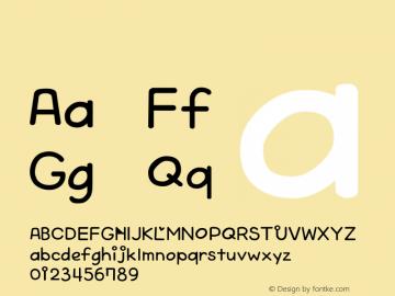 系统字体 粗斜体 Version 1.00 October 19, 2015, initial release Font Sample
