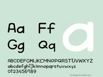 系统字体 细斜体 Version 1.00 October 19, 2015, initial release Font Sample