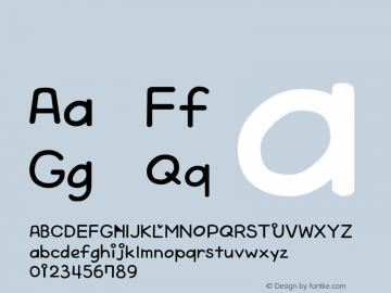 系统字体 细体 Version 1.00 October 19, 2015, initial release Font Sample