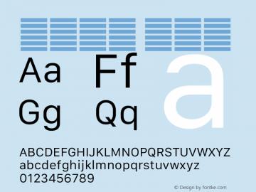 系统字体 常规体 11.0d12e2 Font Sample