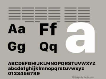 系统字体 粗体 11.0d12e2 Font Sample