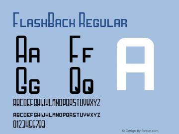 FlashBack Regular Version 1.0图片样张