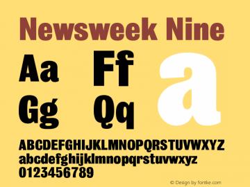 Newsweek Nine Version 001.000图片样张