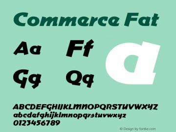 Commerce Fat Version 001.000图片样张