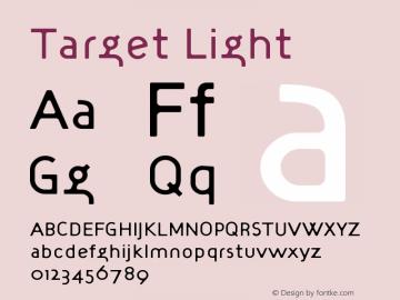 Target Light Version 001.000图片样张