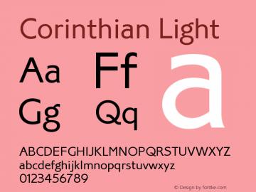 Corinthian Light Version 1.0图片样张