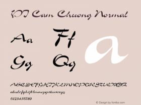 VI Cam Chuong Normal 1.0 Fri Jan 14 14:37:03 1994 Font Sample