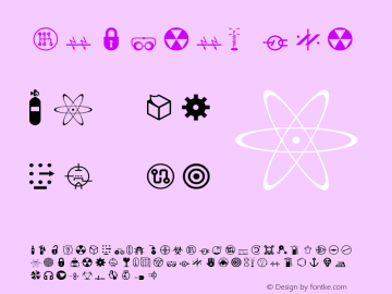 Nucleus One Version 001.000 Font Sample
