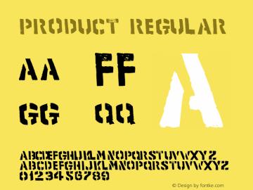 product Regular Macromedia Fontographer 4.1.5 05.02.2001图片样张