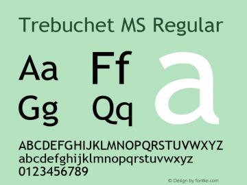 Trebuchet MS Font Family|Trebuchet MS-Sans-serif Typeface