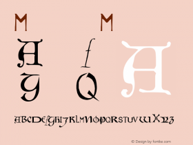 Motley Medium Version 001.000 Font Sample