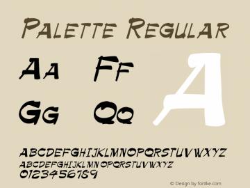 Palette Regular 001.003图片样张