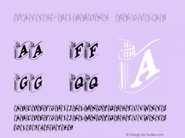 Davys-Ribbons Regular Altsys Fontographer 3.5  4/1/92 Font Sample