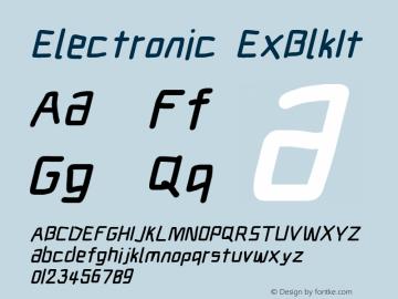 Electronic ExBlkIt Version 1.011图片样张