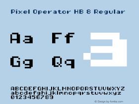 Pixel Operator HB 8 Regular Version 1.5.0 (October 25, 2015)图片样张