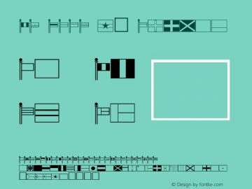 FZ DING 47 Normal 1.0 Tue Apr 12 14:42:26 1994 Font Sample