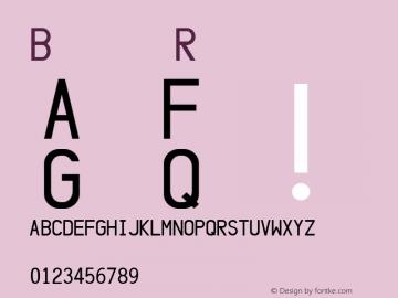 Baloo Regular Unknown Font Sample