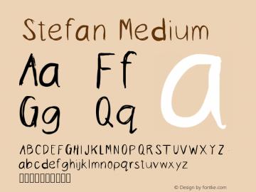 Stefan Medium Version 001.000图片样张