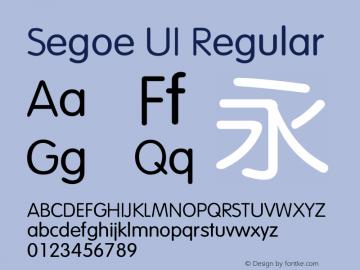 Segoe UI Font,SegoeUI Font|Segoe UI Version 7 00 Font-TTF