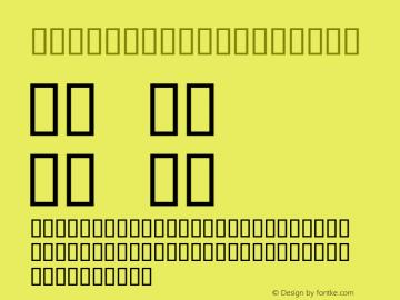 SIL Apparatus Bold Macromedia Fontographer 4.1.3 3/12/98 Font Sample