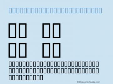 SIL Apparatus Bold Italic Macromedia Fontographer 4.1.3 3/12/98 Font Sample