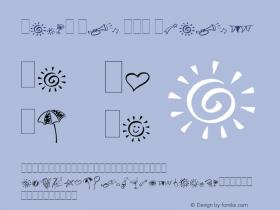 Party Pi LET Plain 1.0 Font Sample