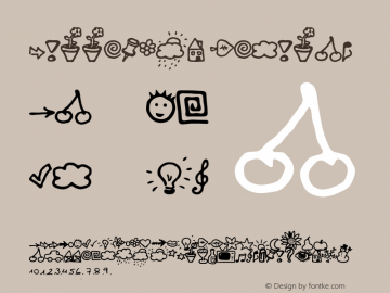 BulletMix Regular Version: 03/09/00 14:32:36 Font Sample
