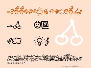 BulletMix Regular Version: 08/08/00 Font Sample