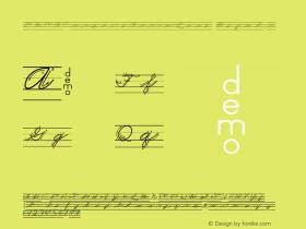 DMOACursiveArrowLine Regular Macromedia Fontographer 4.1.3 1/21/00 Font Sample