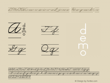 DMOACursiveLine Regular Macromedia Fontographer 4.1.3 1/21/00 Font Sample