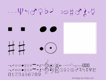 Symusic Regular AutoDesk, Inc., 2.0.0 3/10/97 Font Sample