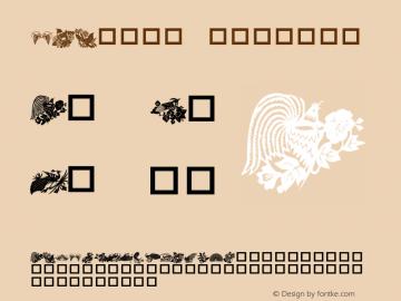 DLBirdz Regular Macromedia Fontographer 4.1 3/10/99 Font Sample