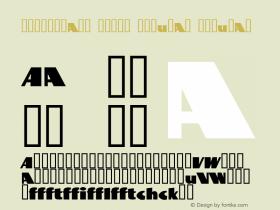 BottleKaps Profi Regular Regular Altsys Fontographer 4.1 10.3.1995 Font Sample
