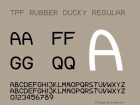 TPF Rubber Ducky Regular 1.0图片样张