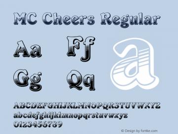 MC Cheers Regular MC 1.0 Font Sample