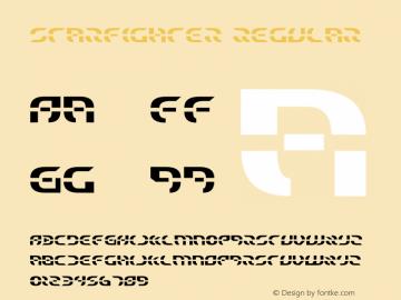 Starfighter Regular 1 Font Sample