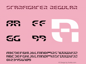 Starfighter Regular 2 Font Sample