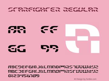 Starfighter Regular 2 Font Sample