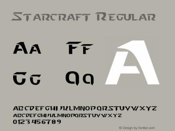 Starcraft Regular Version 2.10 October 26, 2011图片样张