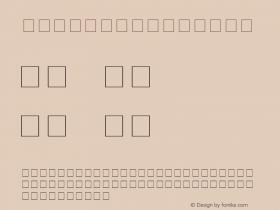 Cyrillic Italic 001.000 Font Sample