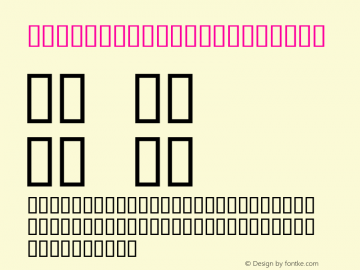 NewCenturySchlbk Bold Altsys Fontographer 4.0.2 96.12.17 Font Sample