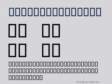 Wharmby Regular Altsys Fontographer 4.0.2 96.12.18图片样张