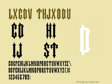 Judas Regular Altsys Metamorphosis:4/25/91 Font Sample