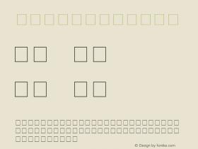 Lynx Regular Unknown Font Sample