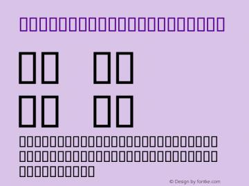 Script2demo Condensed Macromedia Fontographer 4.1.3 13.02.2001 Font Sample
