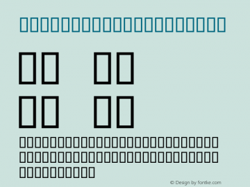 Script2demo Extendet Macromedia Fontographer 4.1.3 13.02.2001 Font Sample