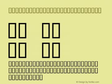 PressWriter Symbols Regular Macromedia Fontographer 4.1 10/22/96 Font Sample