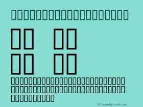 Airplane KT Regular Macromedia Fontographer 4.1J 01.12.23图片样张