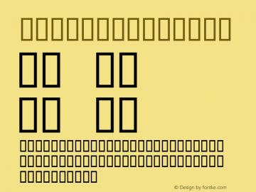 Globus Regular Macromedia Fontographer 4.1 30.08.96 Font Sample