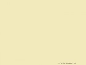 文鼎雕刻体 Regular CoolType Version 1.0 Font Sample